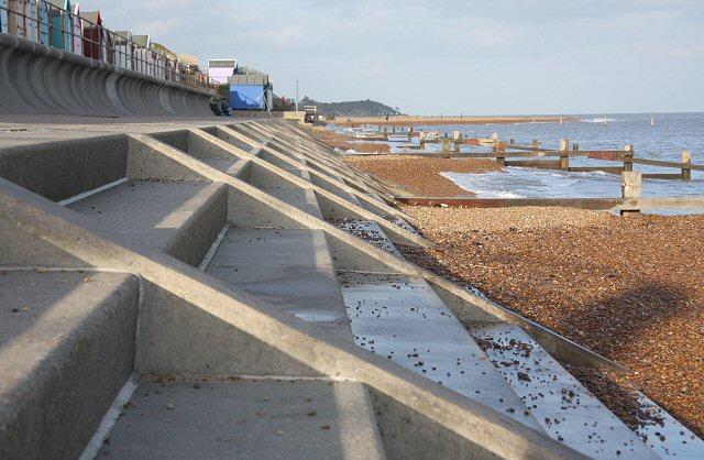 File:Sea defences at Brackenbury Dip - geograph.org.uk - 711813.jpg