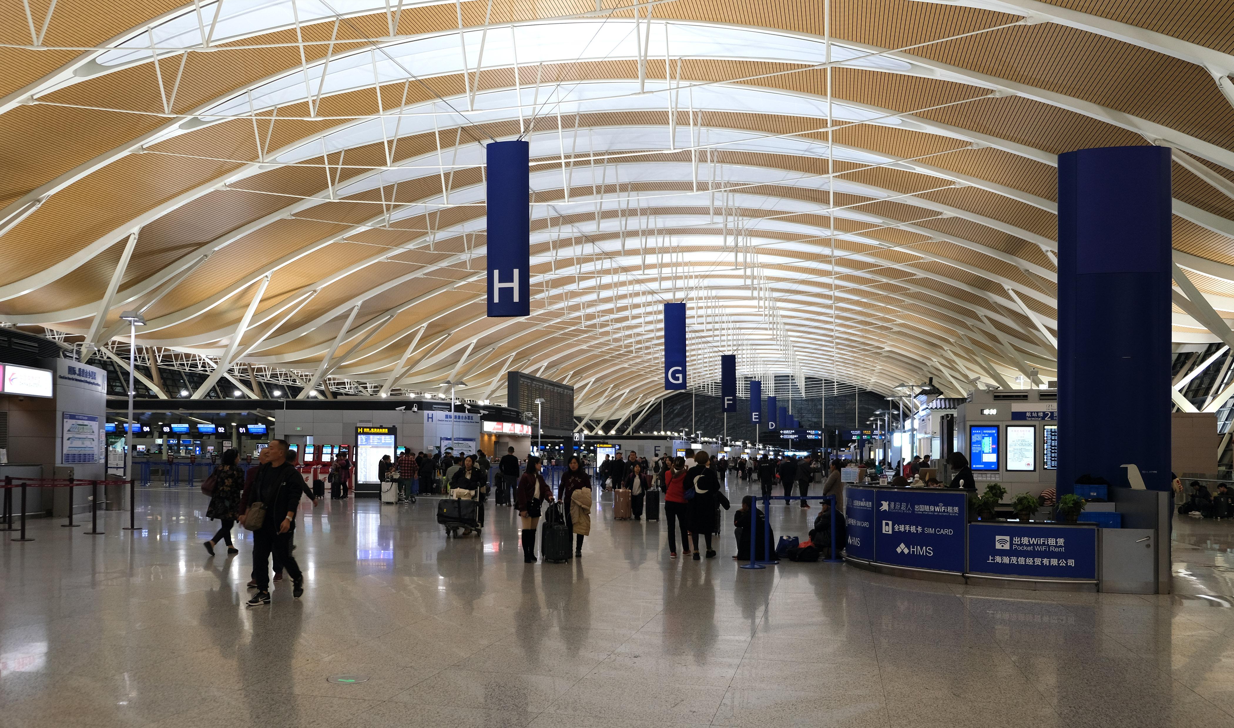 Shanghai - #3 World's Biggest Cargo Airports