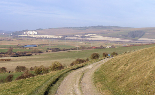 South Downs Way near Southease - geograph.org.uk - 1117925