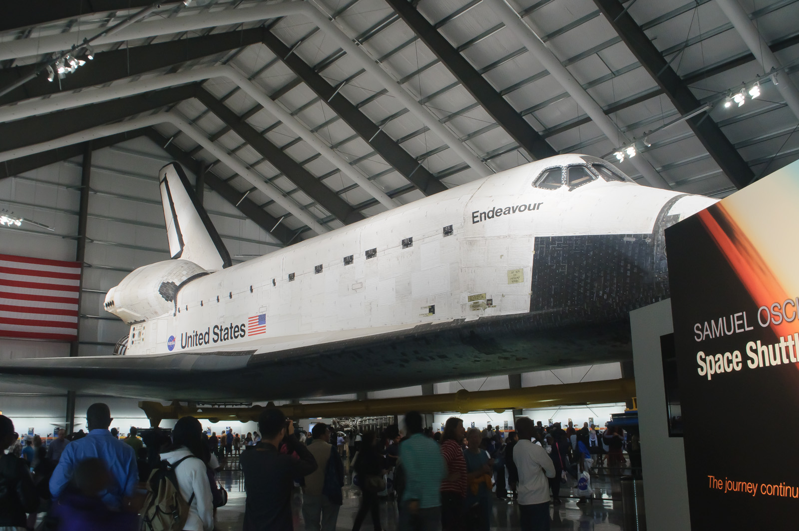 FileSpace Shuttle Endeavour at California Science Center