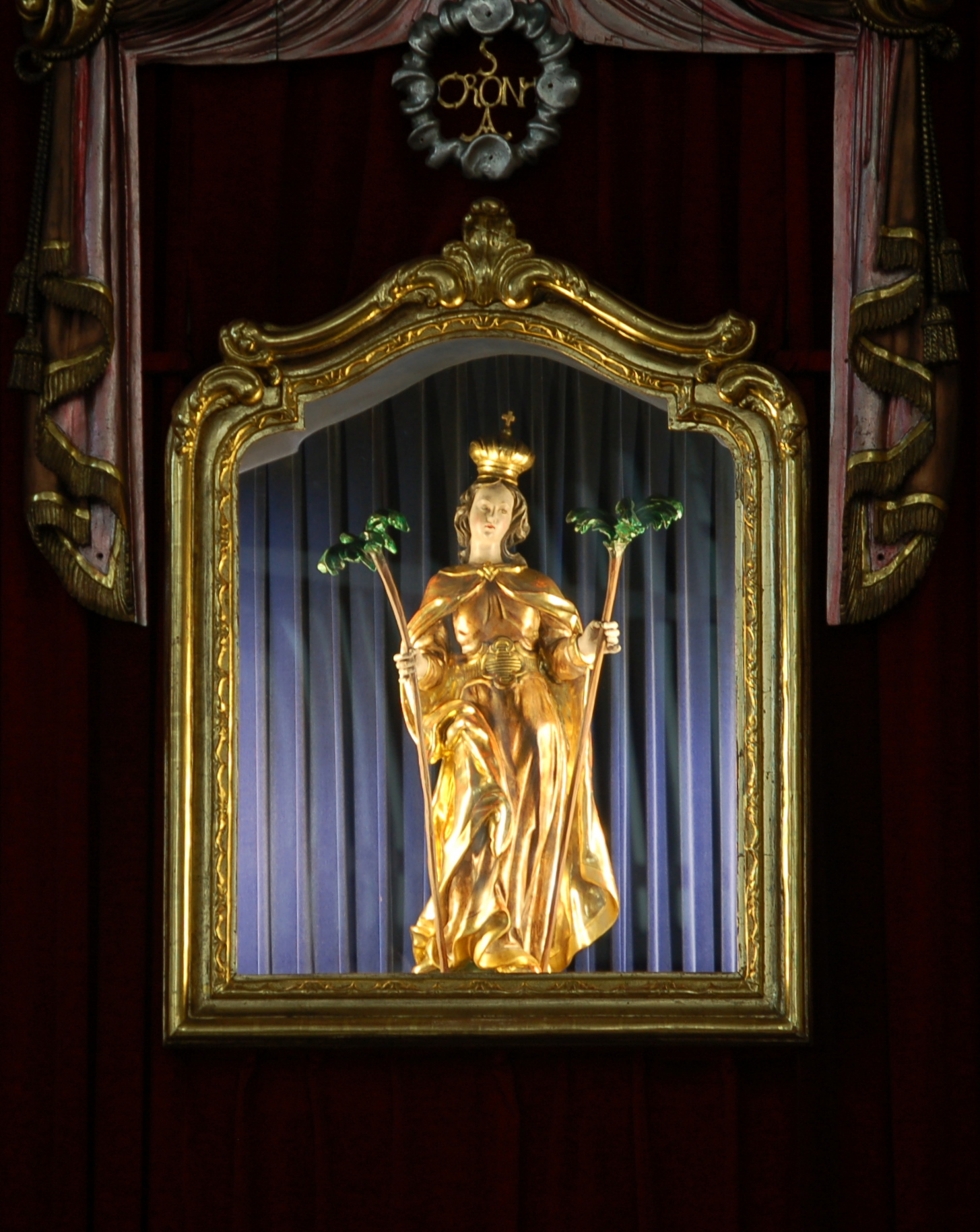 St Corona am Wechsel Kirche Bildnis.JPG