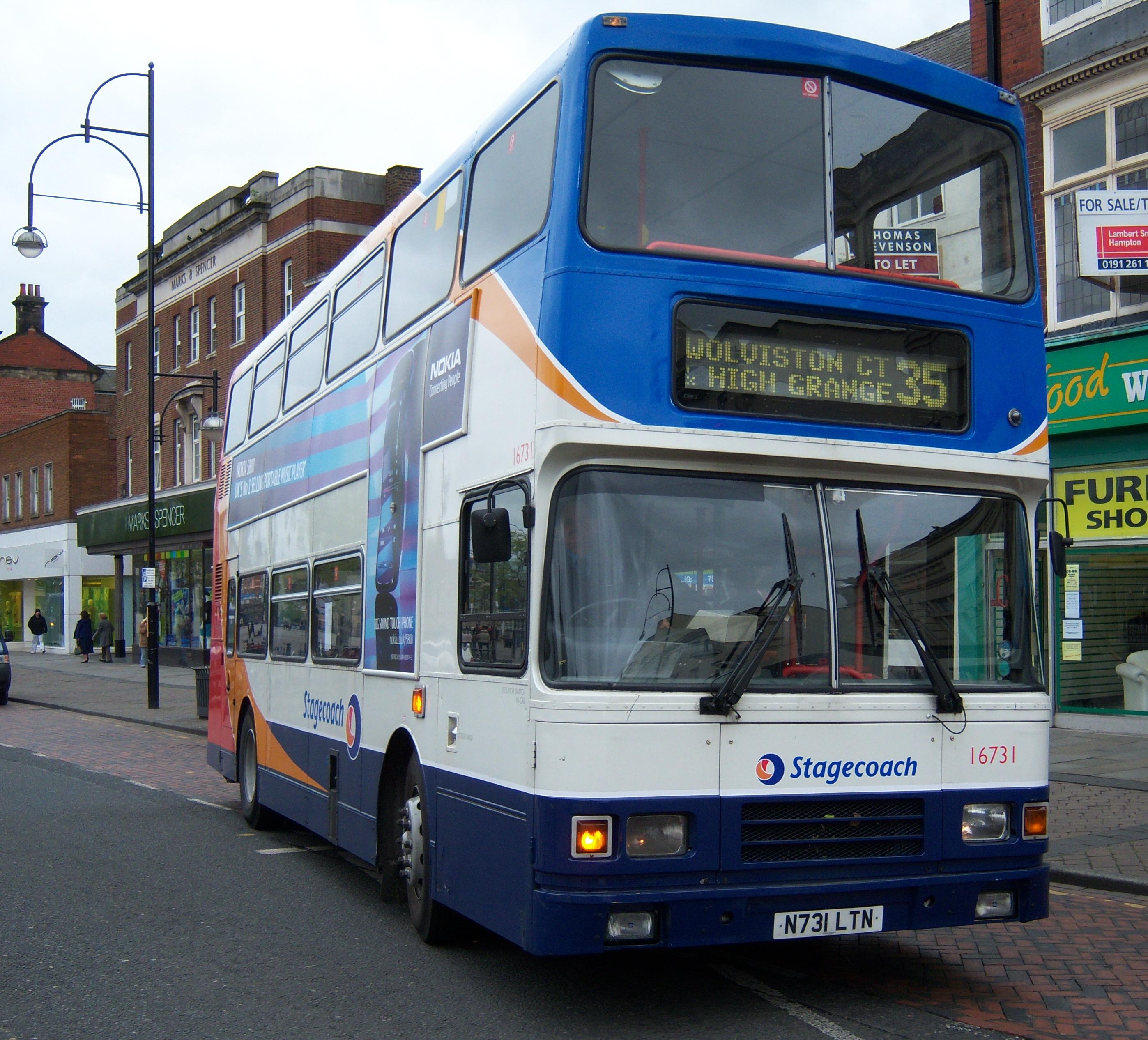 File Stagecoach Bus 16731 Volvo Olympian Alexander Rl N731