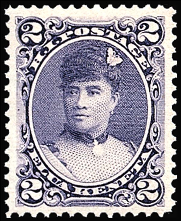 List Of People On The Postage Stamps Hawaii