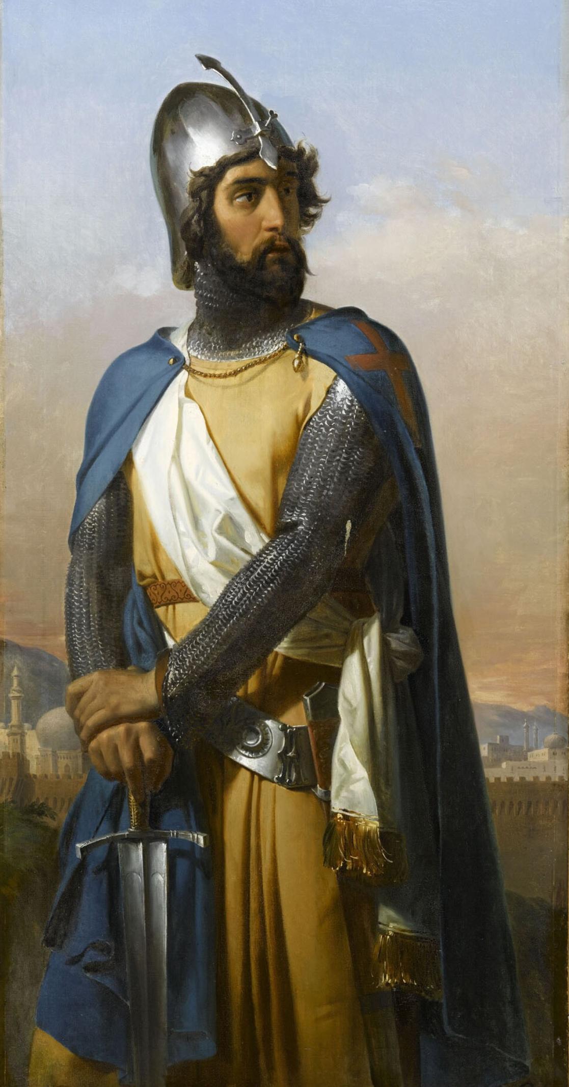 Depiction of Tancredo de Galilea