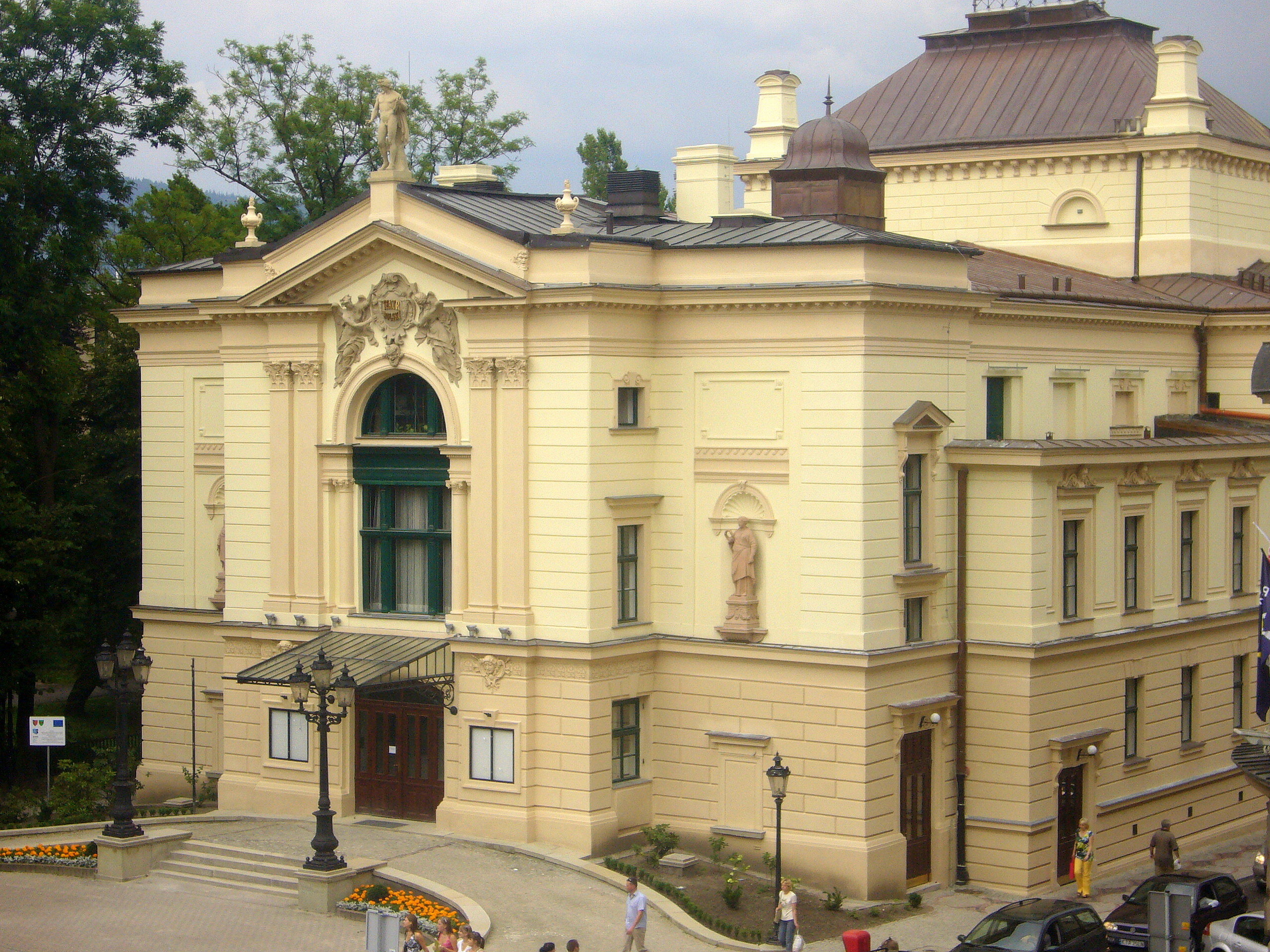 Teatr Polski W Bielsku Białej Wikipedia Wolna Encyklopedia