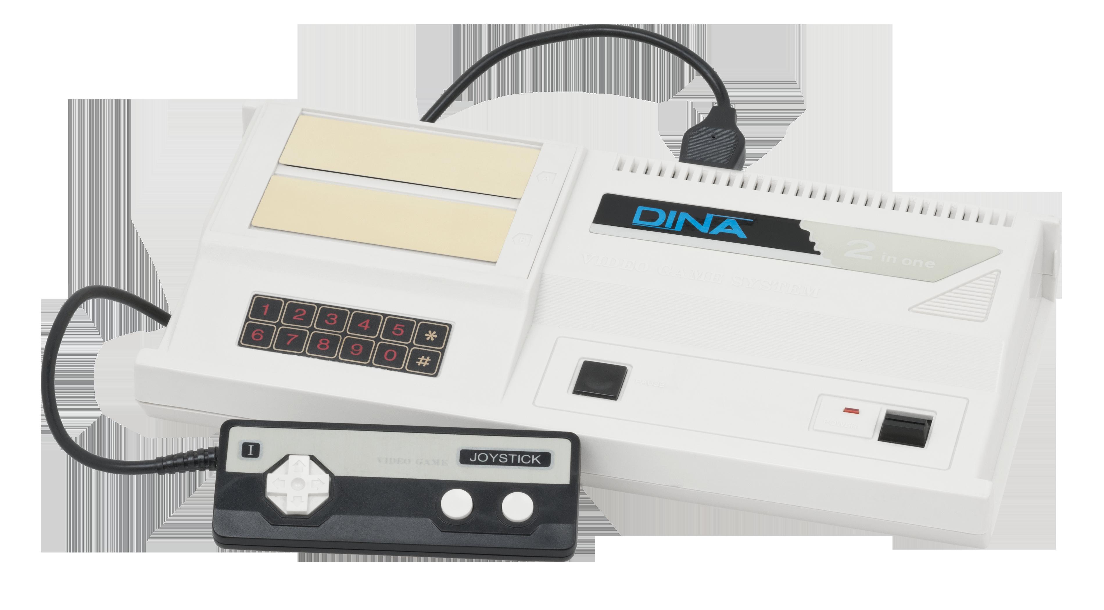 Um console Dina 2 in 1. Conheça o Colecovision e o SG-1000 - Dois consoles com praticamente o mesmo hardware