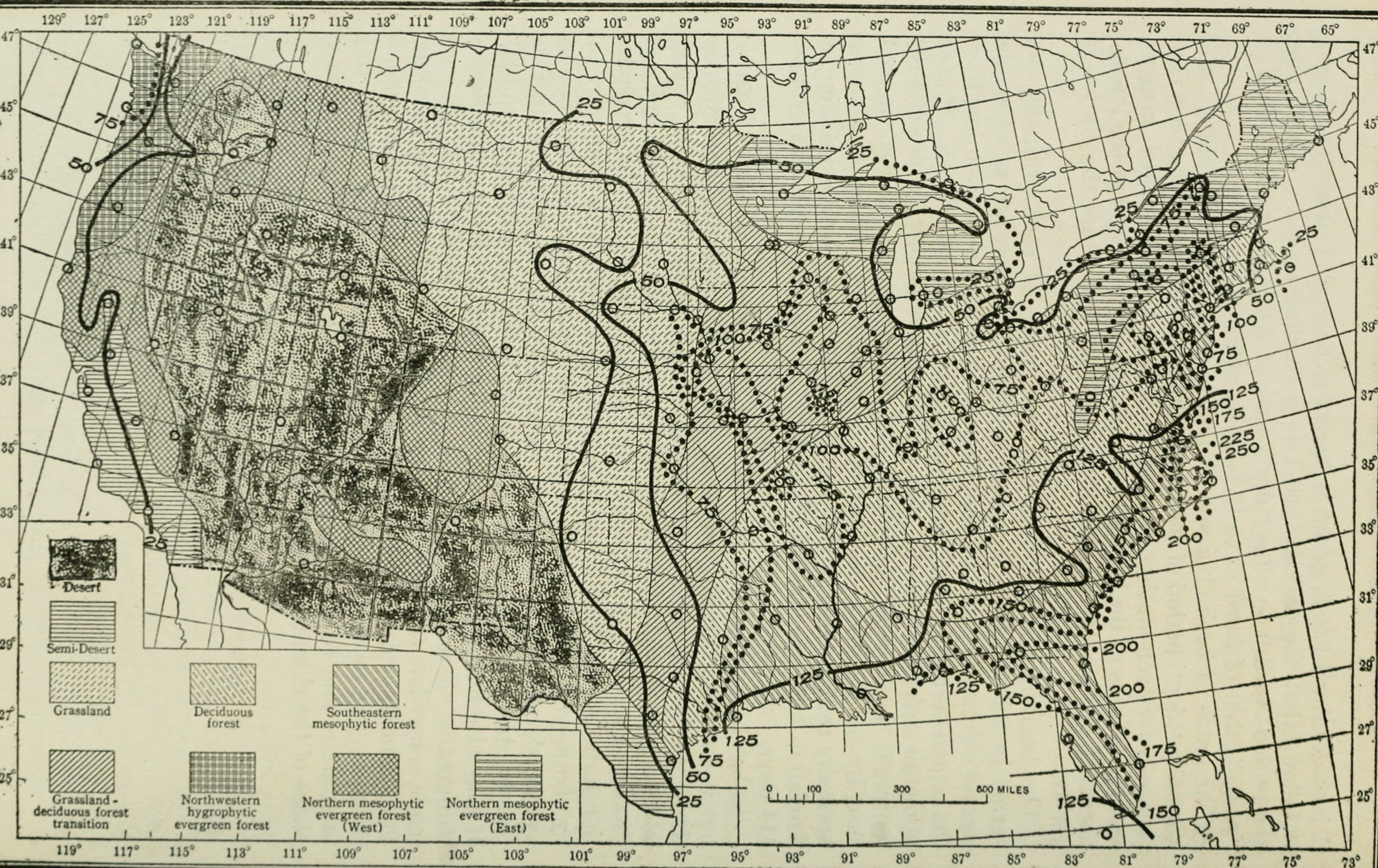 File:The distribution of vegetation in the United States, as related ...
