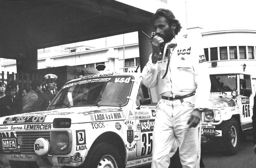 Quel rallye automobile a été créé par thierry sabine