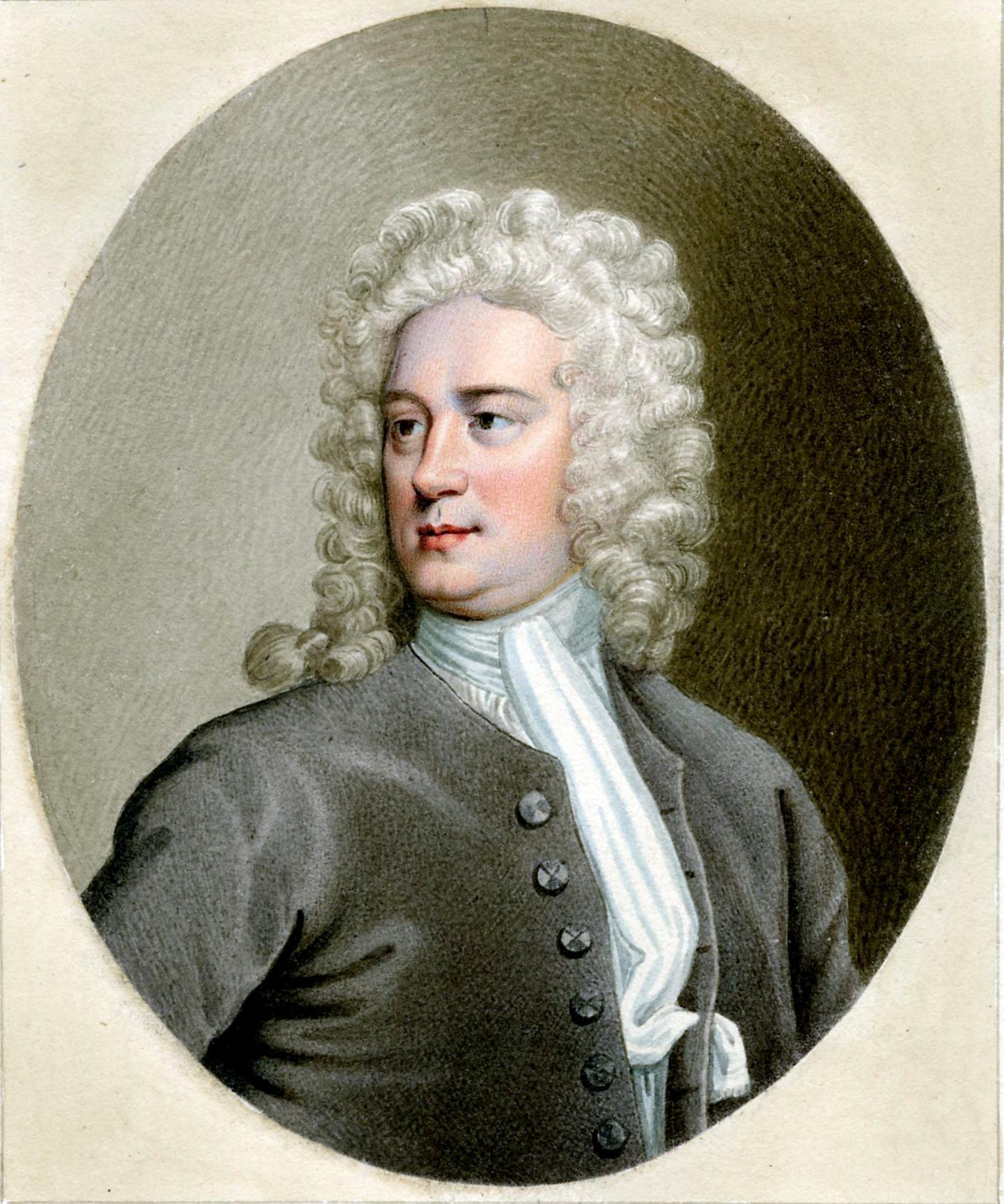 Portrait of Thomas Tickell by Sylvester Harding