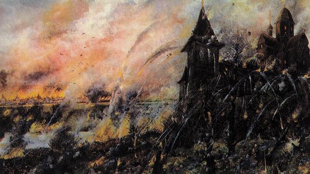Тоқтамыстың 1382 жылғы Ресейге жорығы.