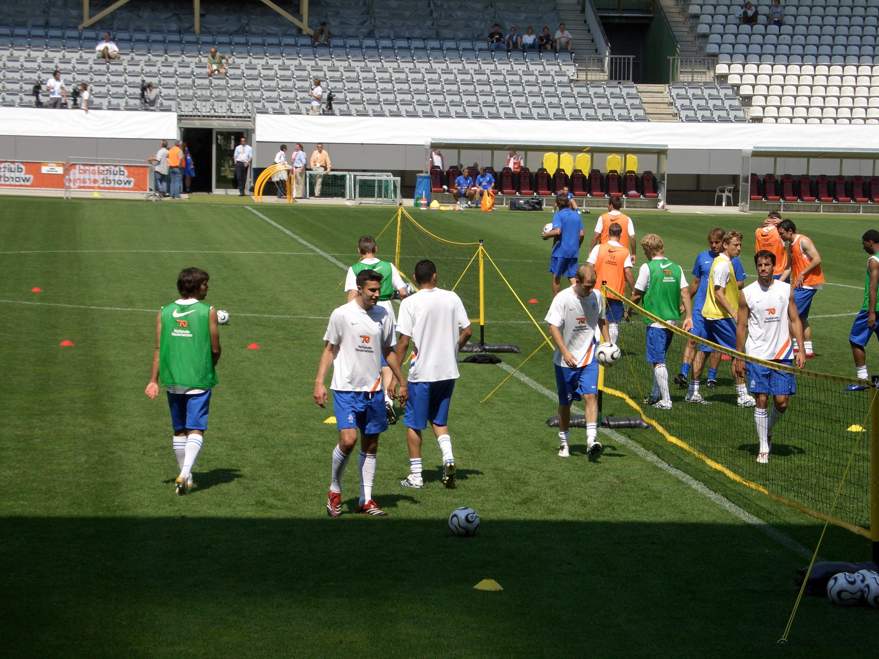 נבחרת הולנד באימון