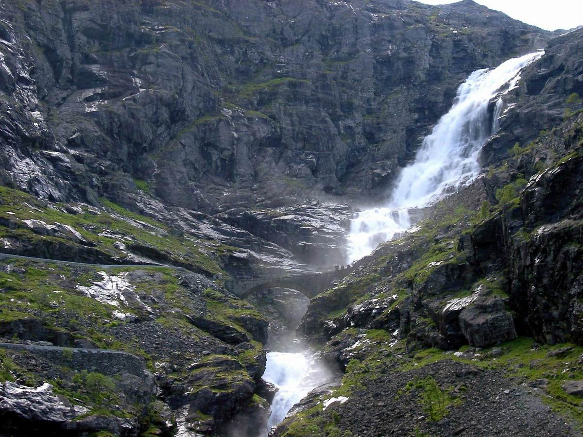 Norway Waterfall