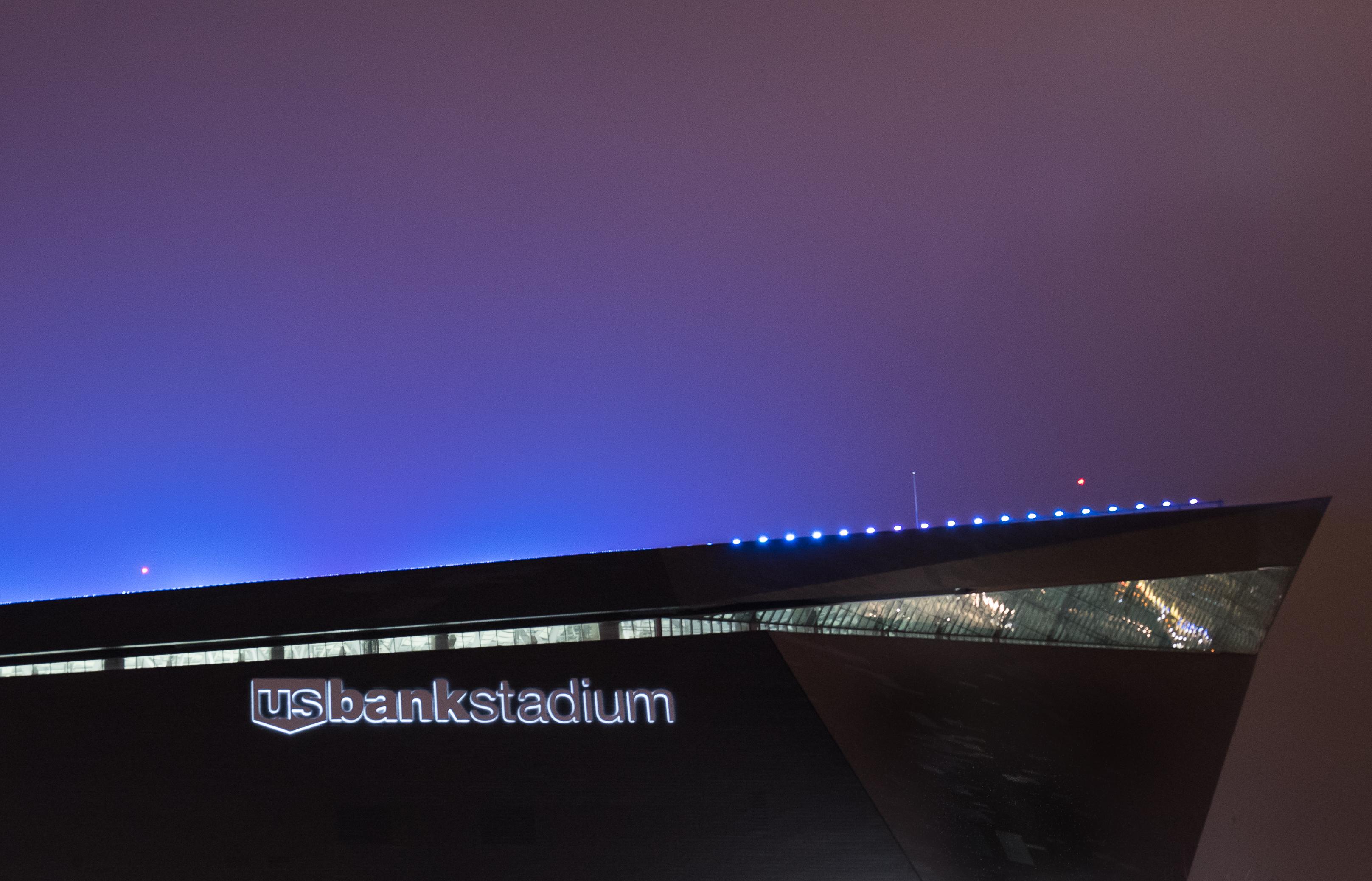 File U S Bank Stadium Lighting Minneapolis Minnesota