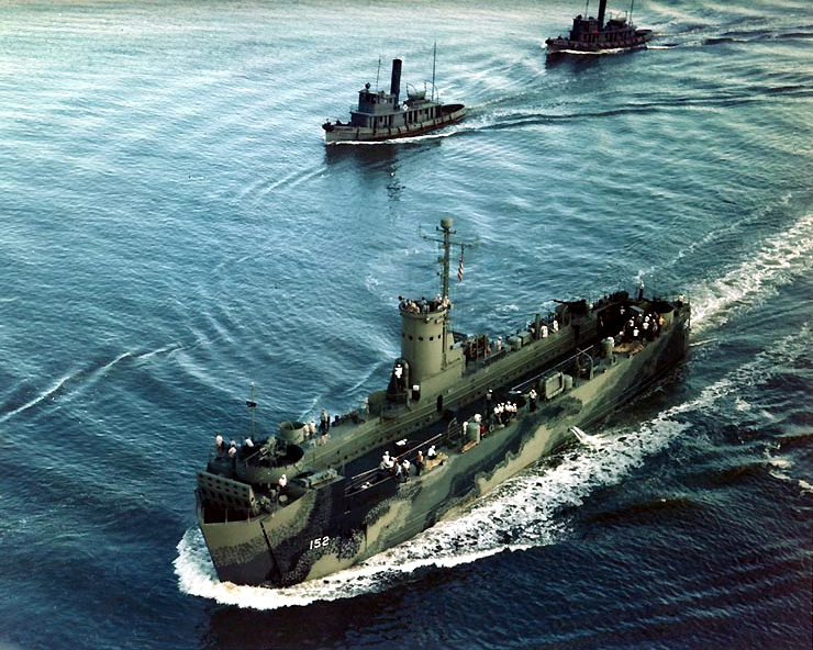 Description uss lsm 152 underway off charleston navy yard in 1944 jpg