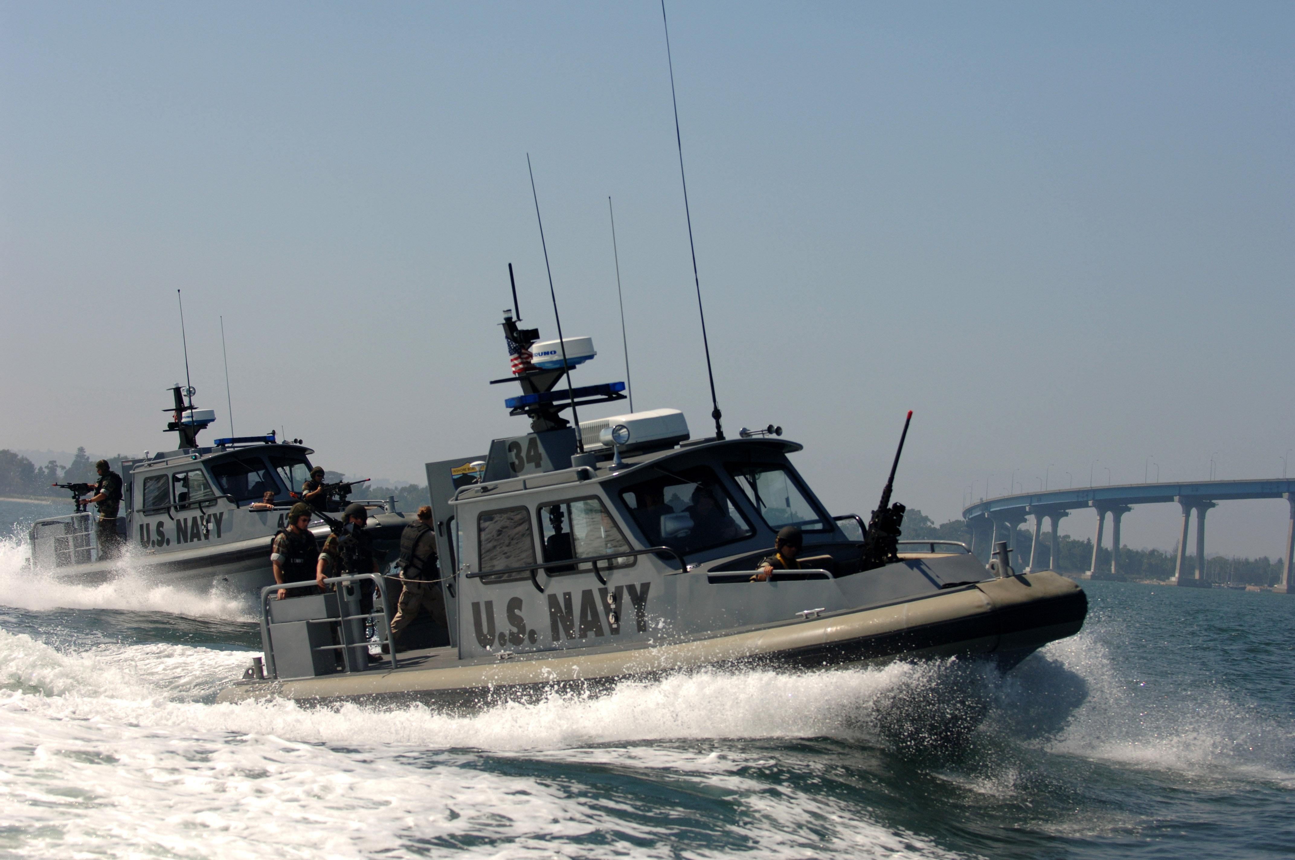 Navy Seal Boat Big Island