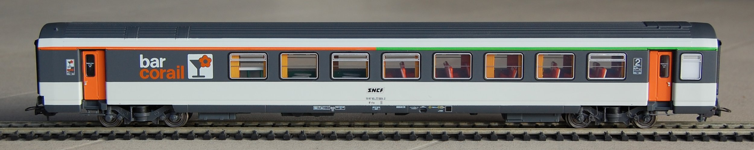 lsmodels LS Models製 コライユ客車 (HOスケール)