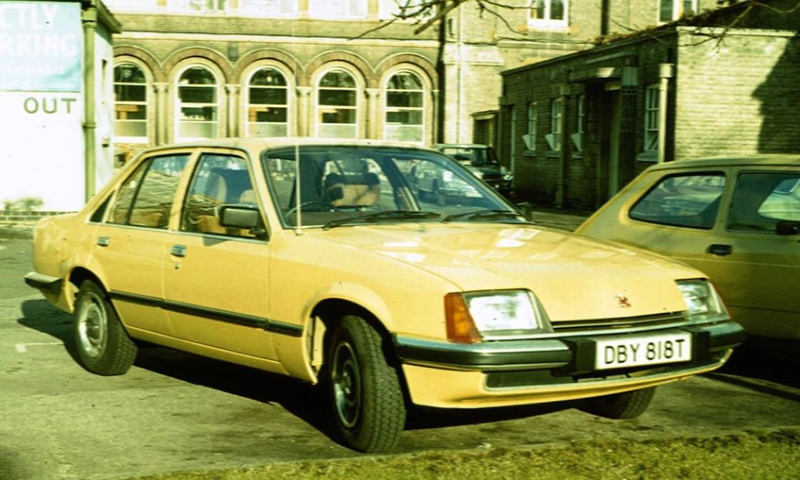 UK Vauxhall Carlton MK1 lancio Stampa Fotografia 43155-24 11.10.78