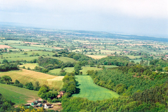 View from Earl's Hill, adjacent to Pontesford Hill, Shropshire - geograph.org.uk - 42712