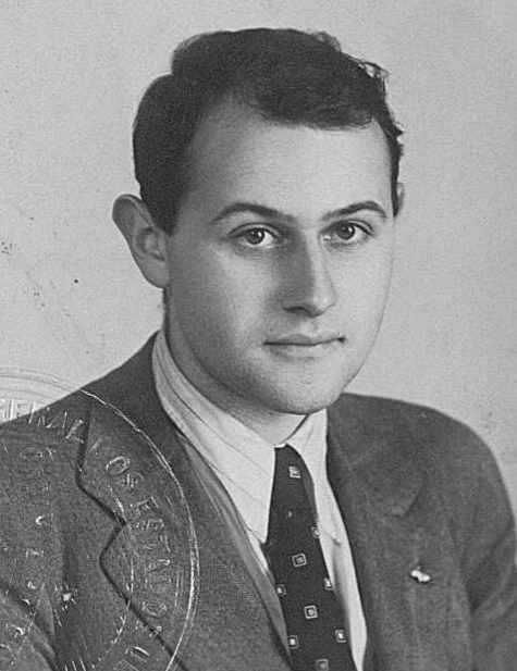 Vilém Flusser, 1940