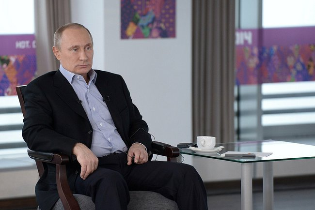 Vladimir Putin's interview about Olympics in Sochi (2014-01-17) 02