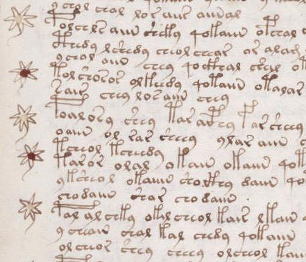 קובץ:Voynich manuscript recipe example 107r crop.jpg
