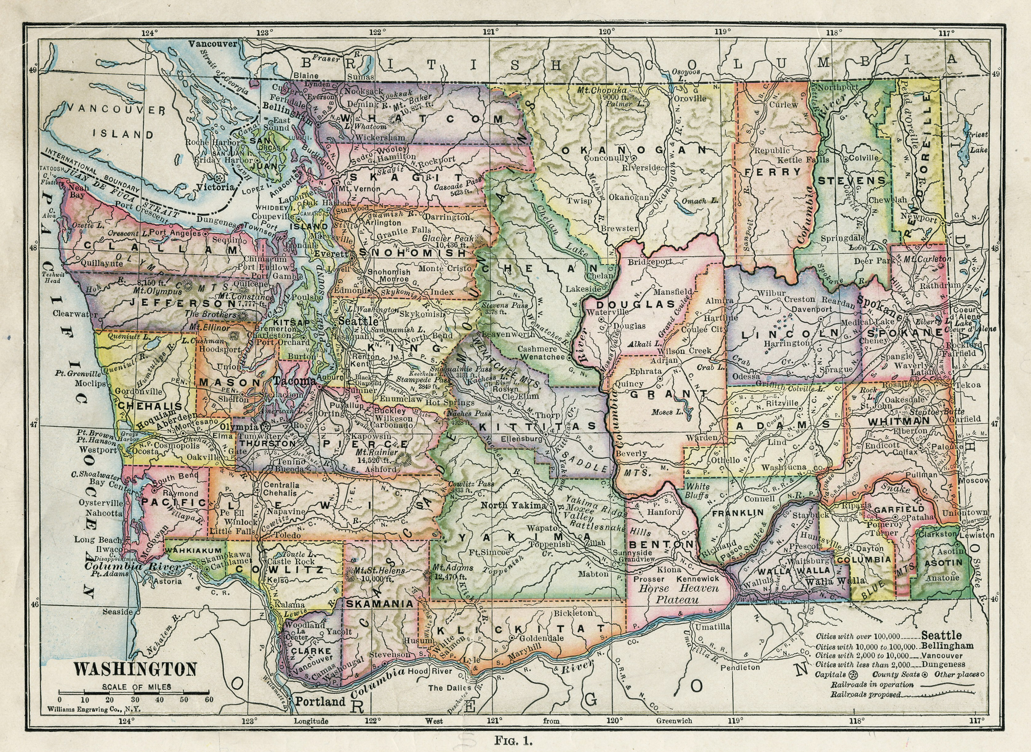 FileWashington State Map Jpg Wikimedia Commons - Map of washington state