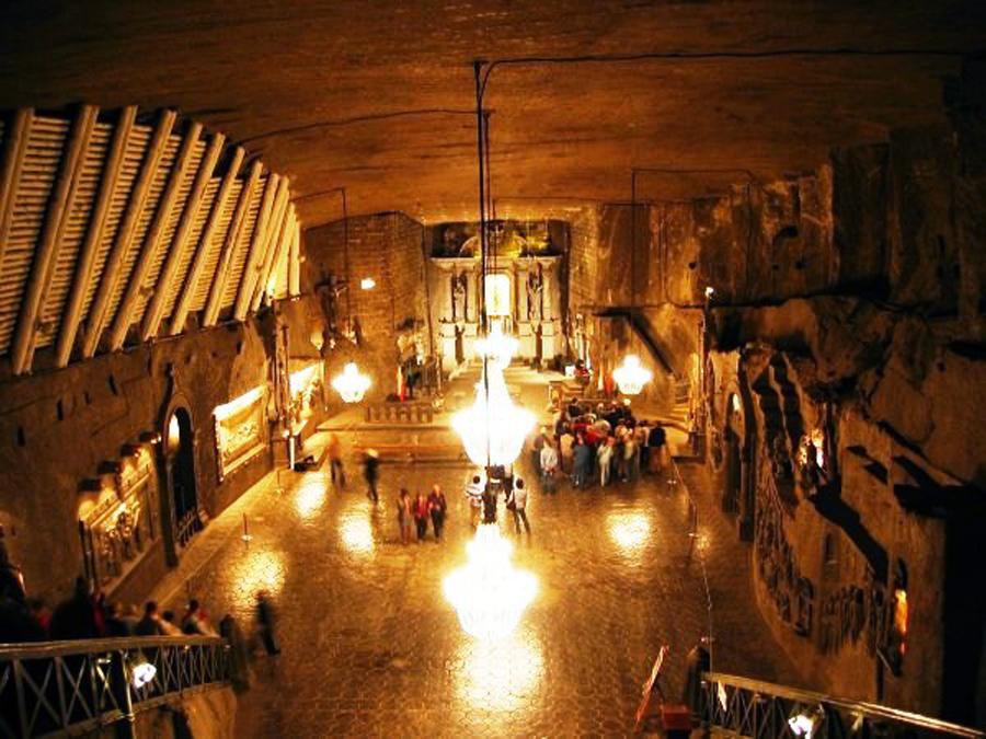 Αποτέλεσμα εικόνας για Το Αλατωρυχείο Βιελίτσκα