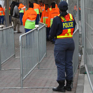 World Cup security in Johannesburg 2010-06-19
