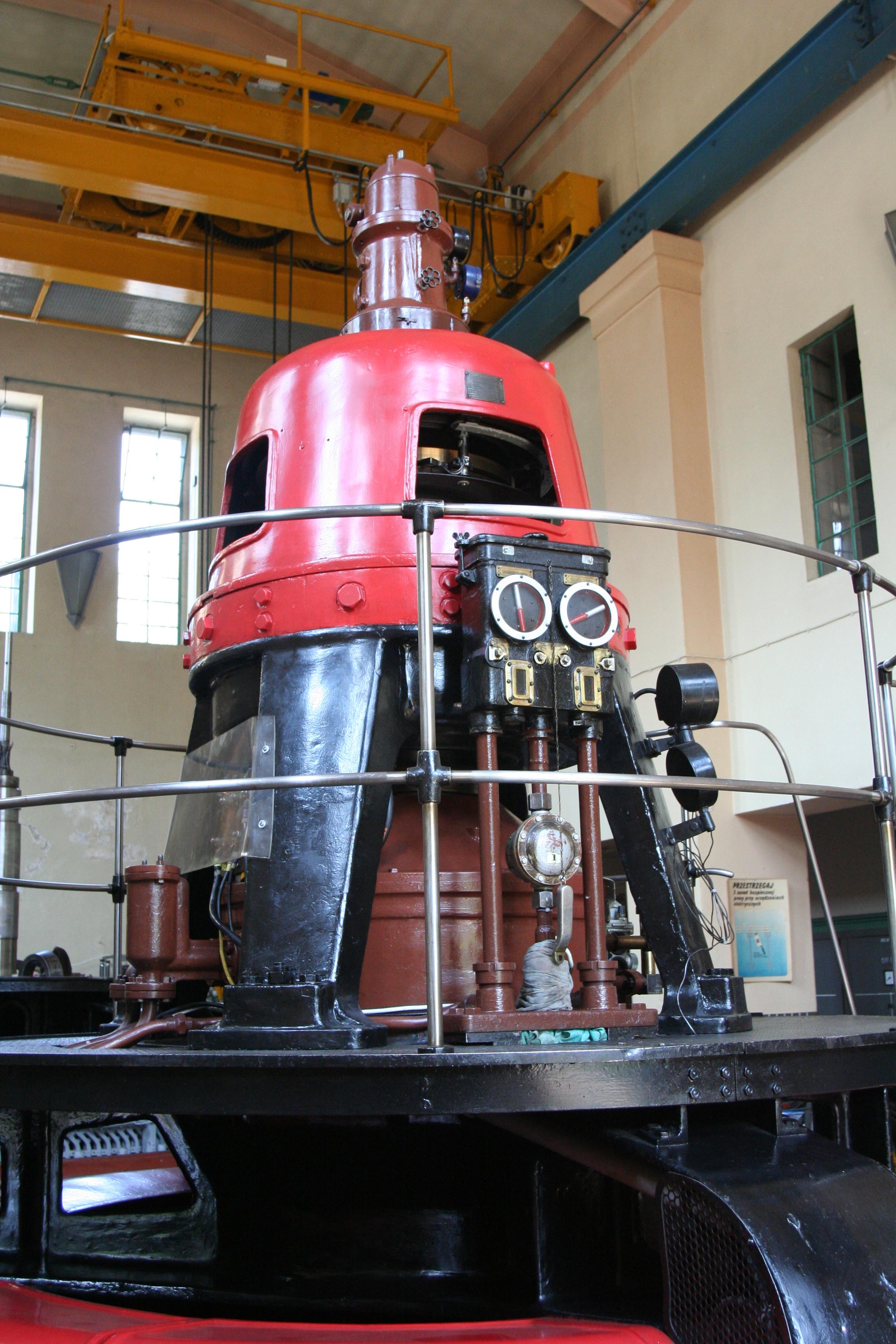 File Wrzeszczyn power plant turbine 03 Wikimedia mons