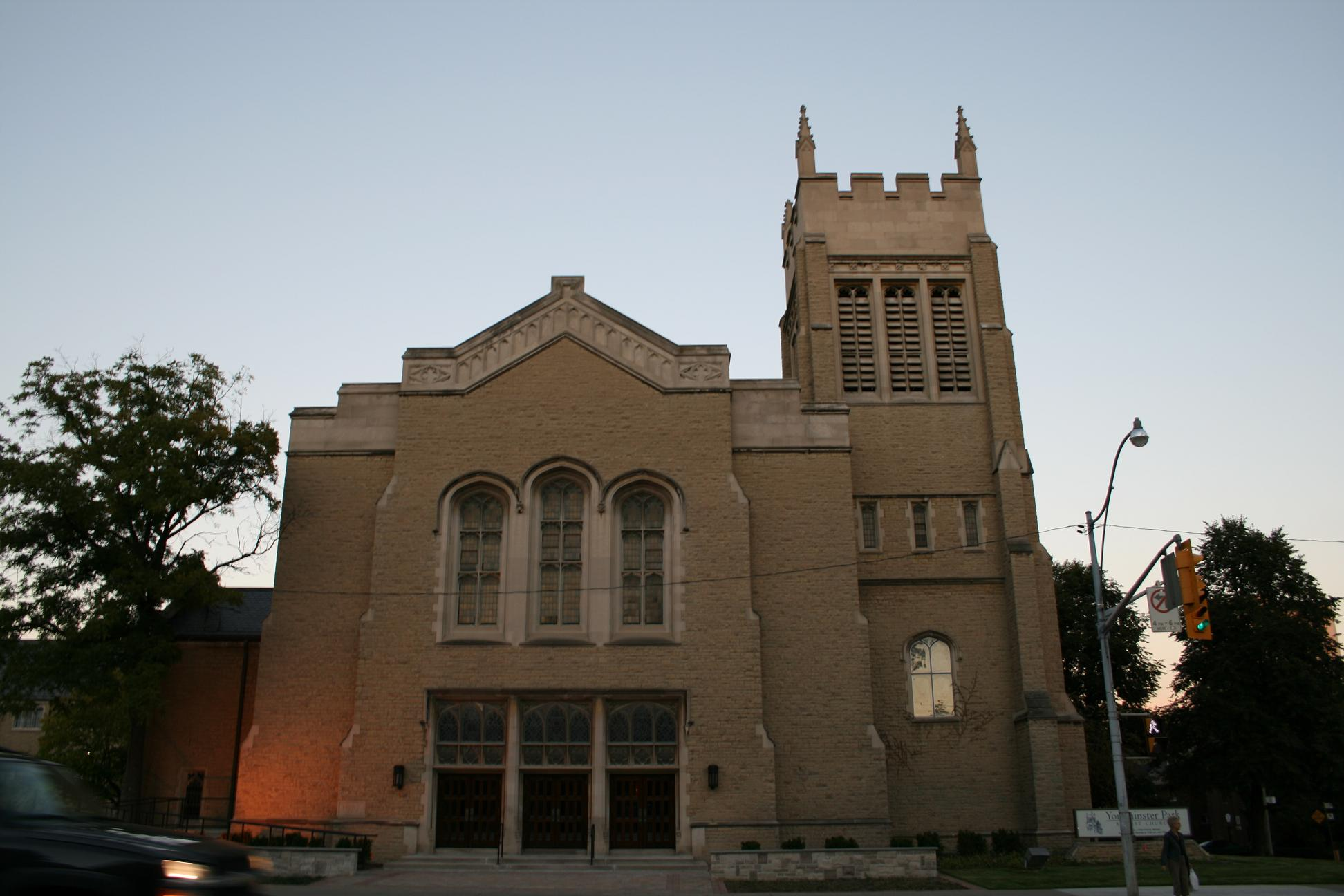Yorkminster Park Baptist Church (Toronto) - Wikipedia