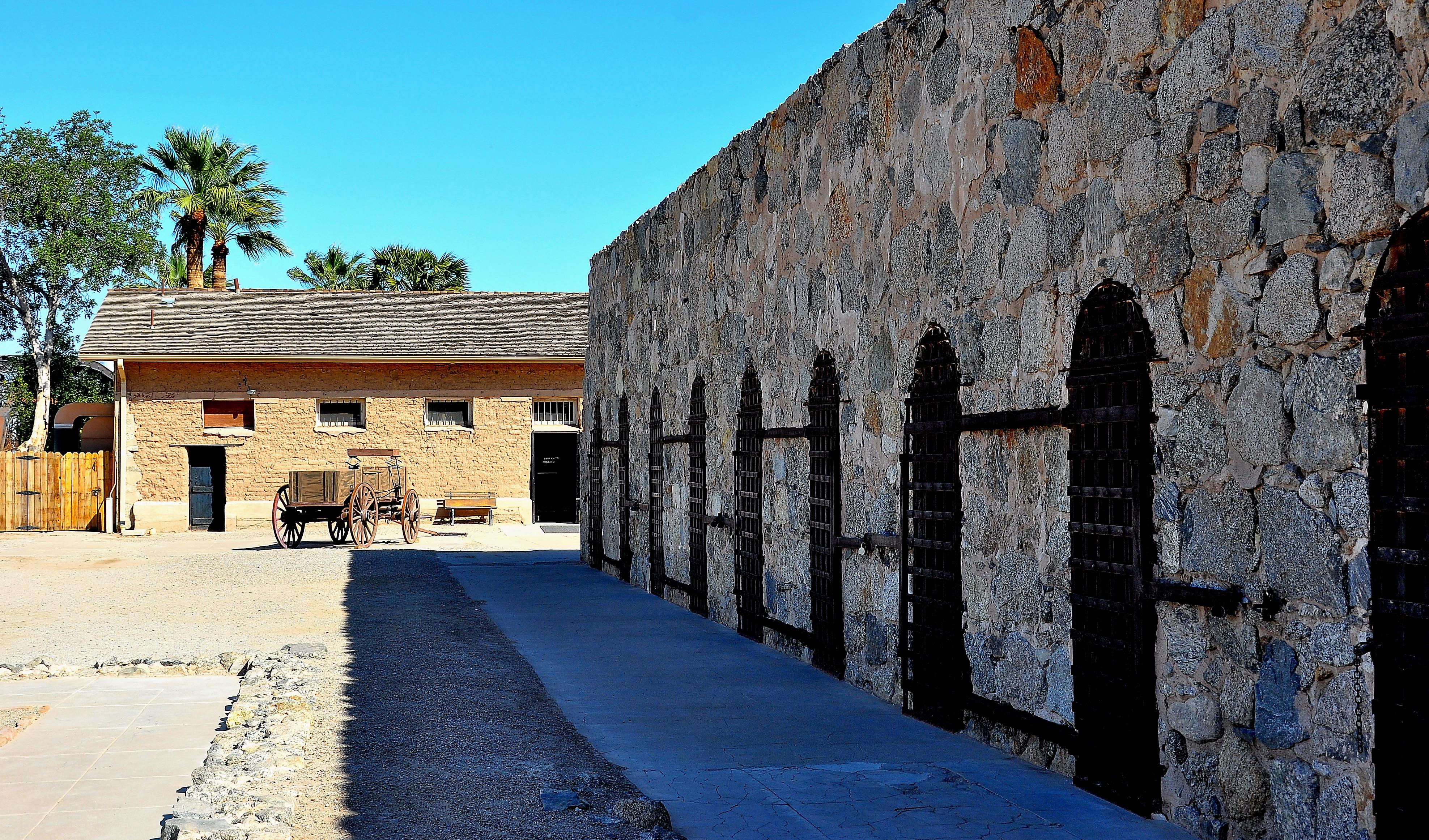 yuma territorial prison haunted