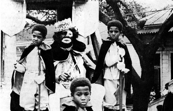 Mardi Gras Zulu King 1975