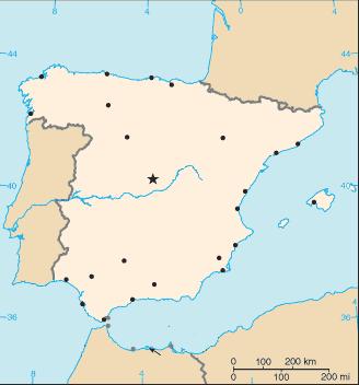 spanyolország térkép Sablon:Spanyolország térkép – Wikipédia