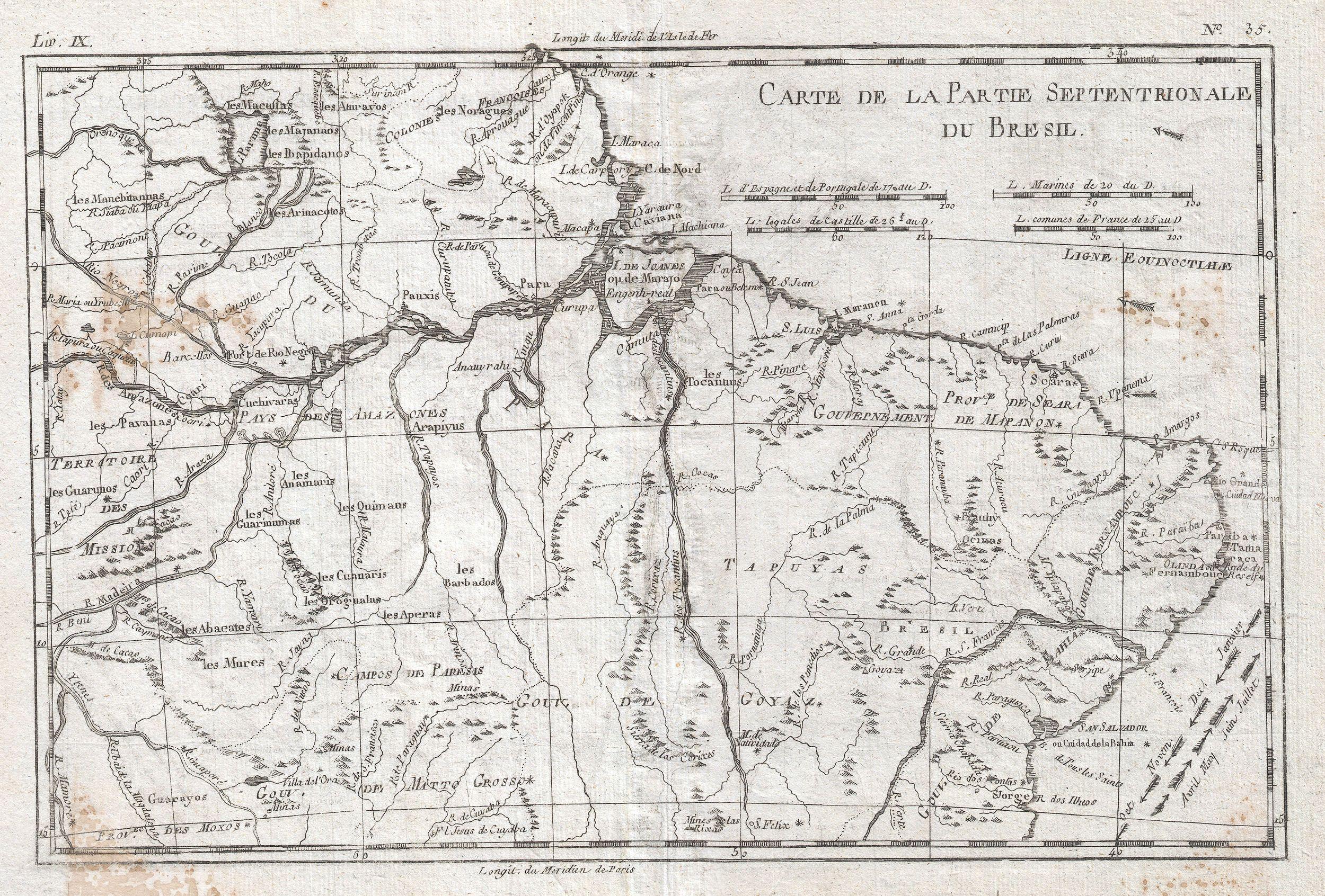 1780 in Brazil