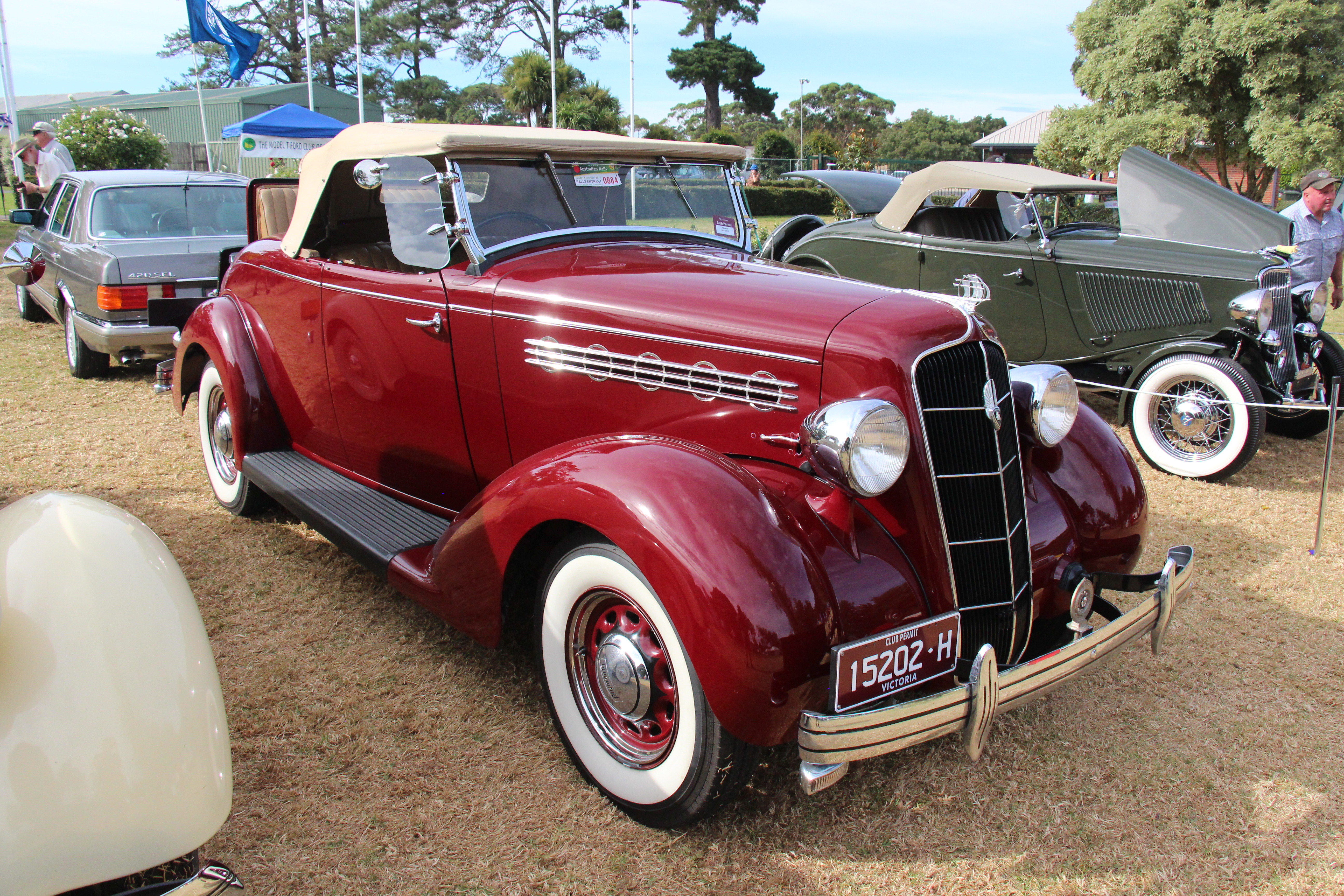 File:1935 Plymouth PJ Deluxe Convertible (32807670401) jpg
