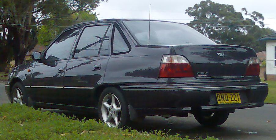Daewoo Cielo GLE MT. Click para ampliar. File:1995-1997 Daewoo Cielo sedan