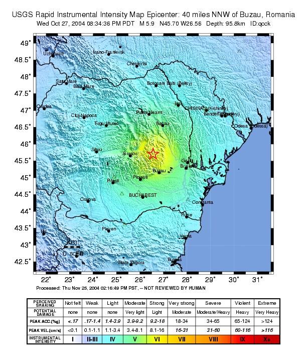 Seismicitatea Romaniei Wikipedia