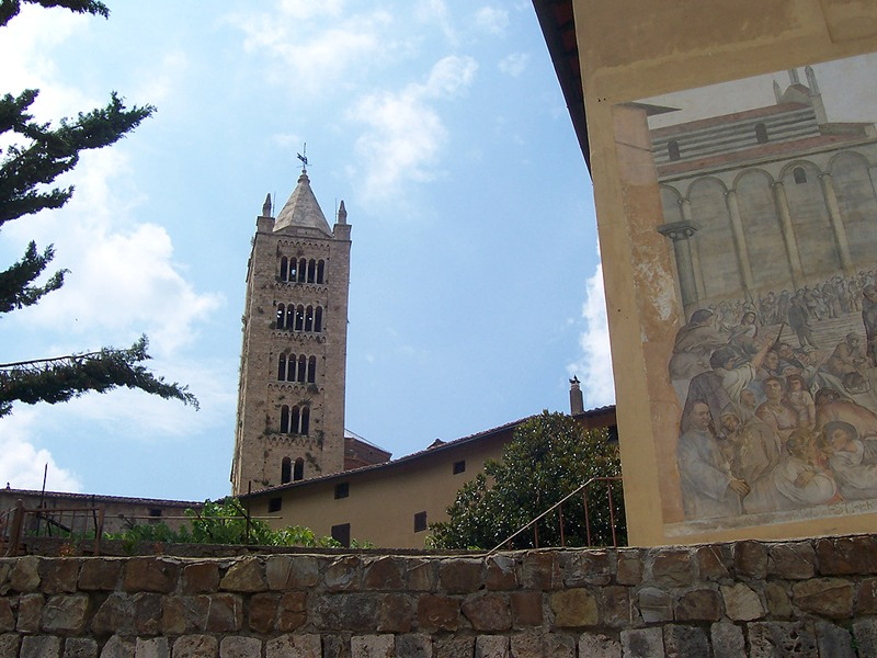 Absis and belltower Cattedrale di San Cerbone