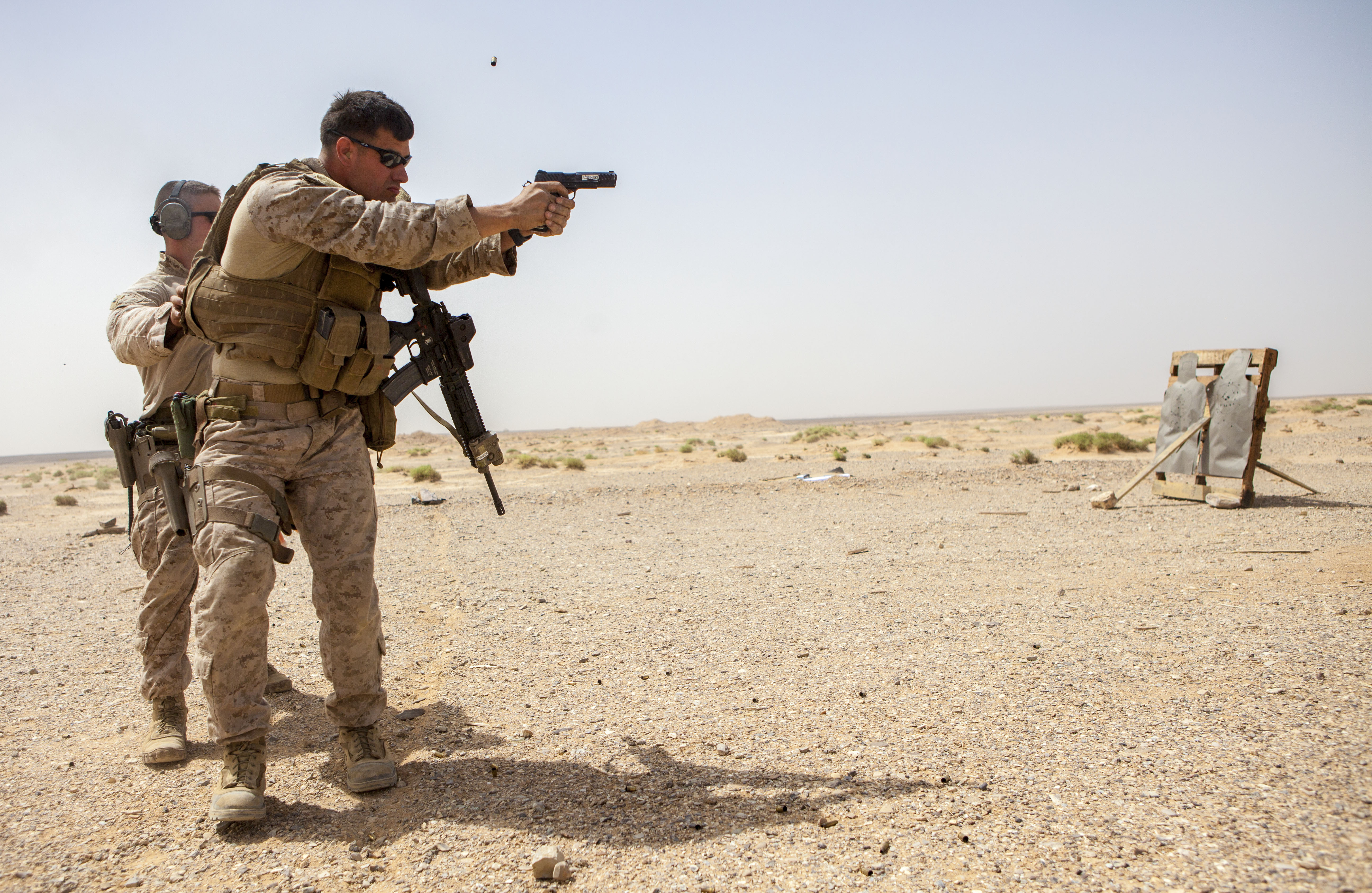 File:A U.S. Marine with the 26th Marine Expeditionary Unit ...