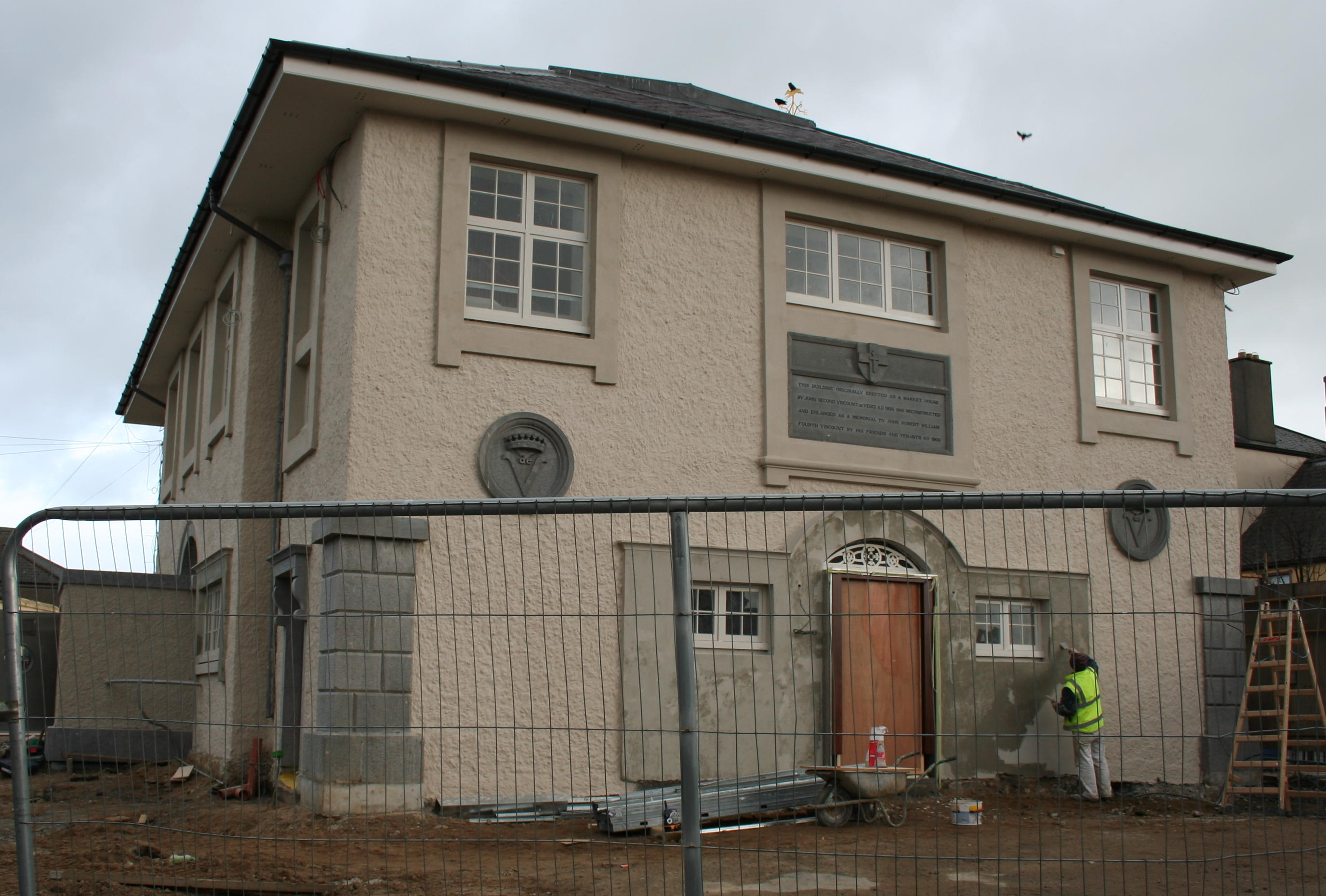 File abbeyleix market house wikimedia for Restoration house
