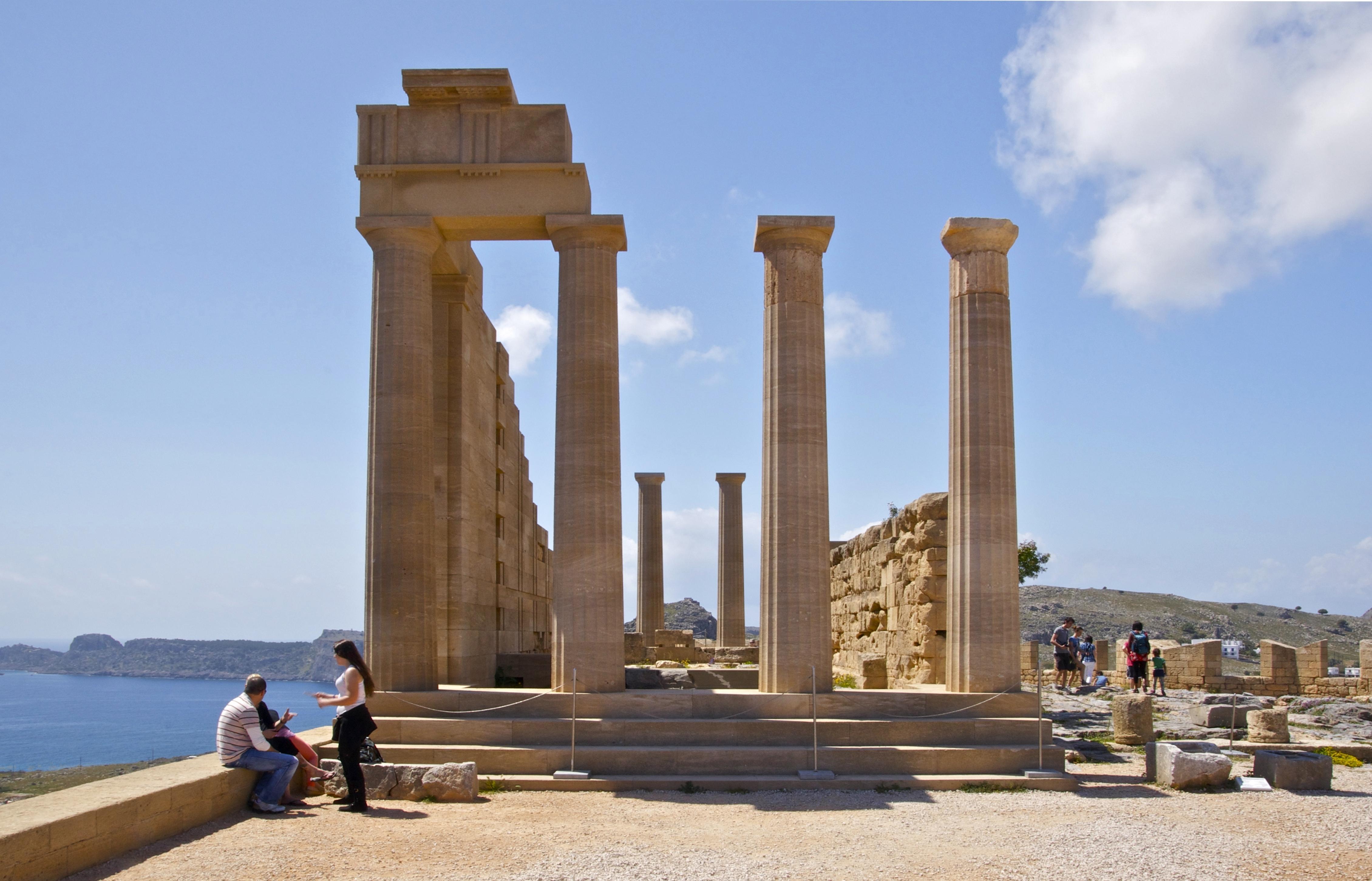File:Acropolis Athena Lindos Rhodes 2.jpg