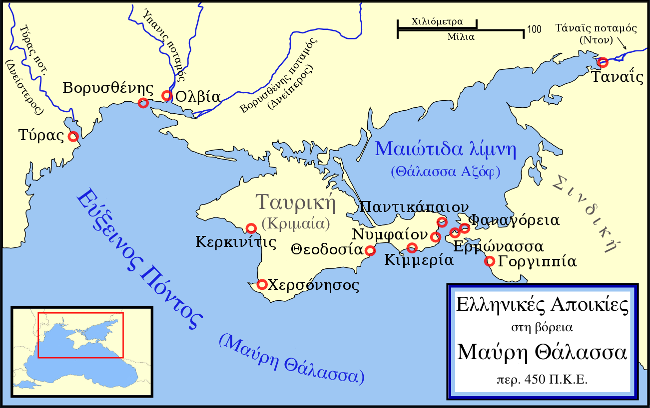 Massilia Map