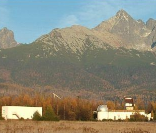 Astronomical Institute of Slovak Academy of Sciences facility in Kežmarok, Slovakia