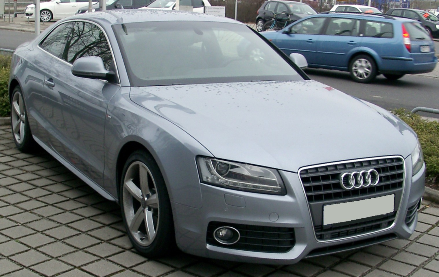 File:Audi A5 front 20080225.jpg - Wikimedia Commons