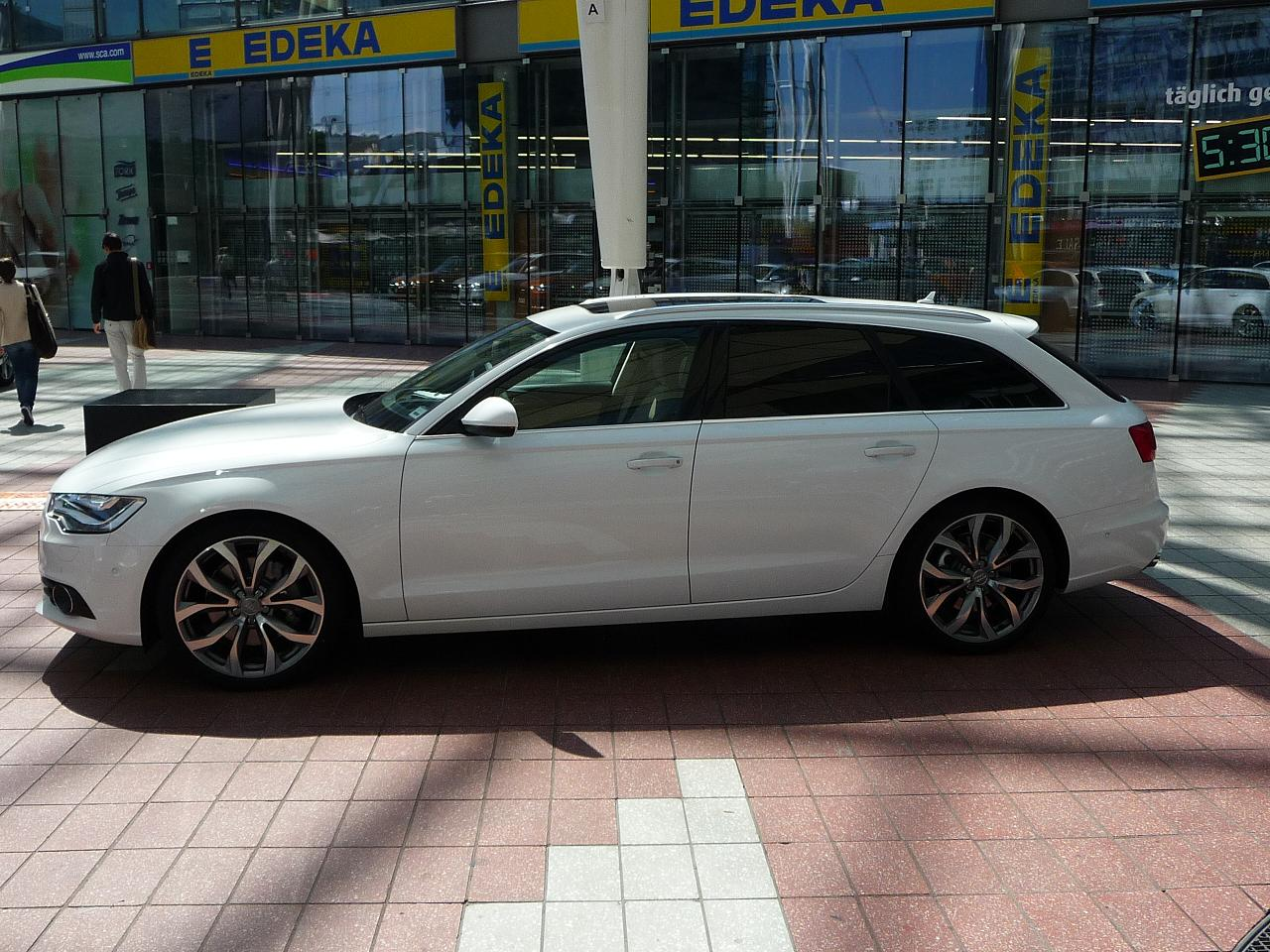 File Audi A6 Avant New Jpg Wikimedia Commons
