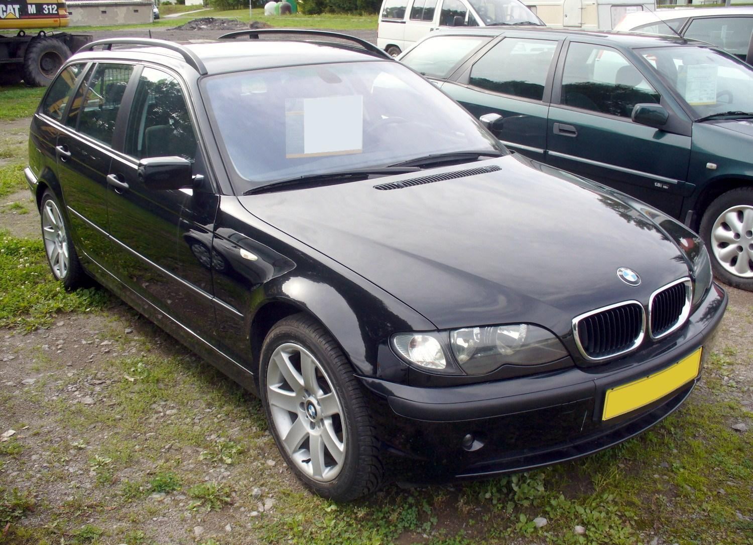file bmw e46 320d touring facelift jpg. Black Bedroom Furniture Sets. Home Design Ideas