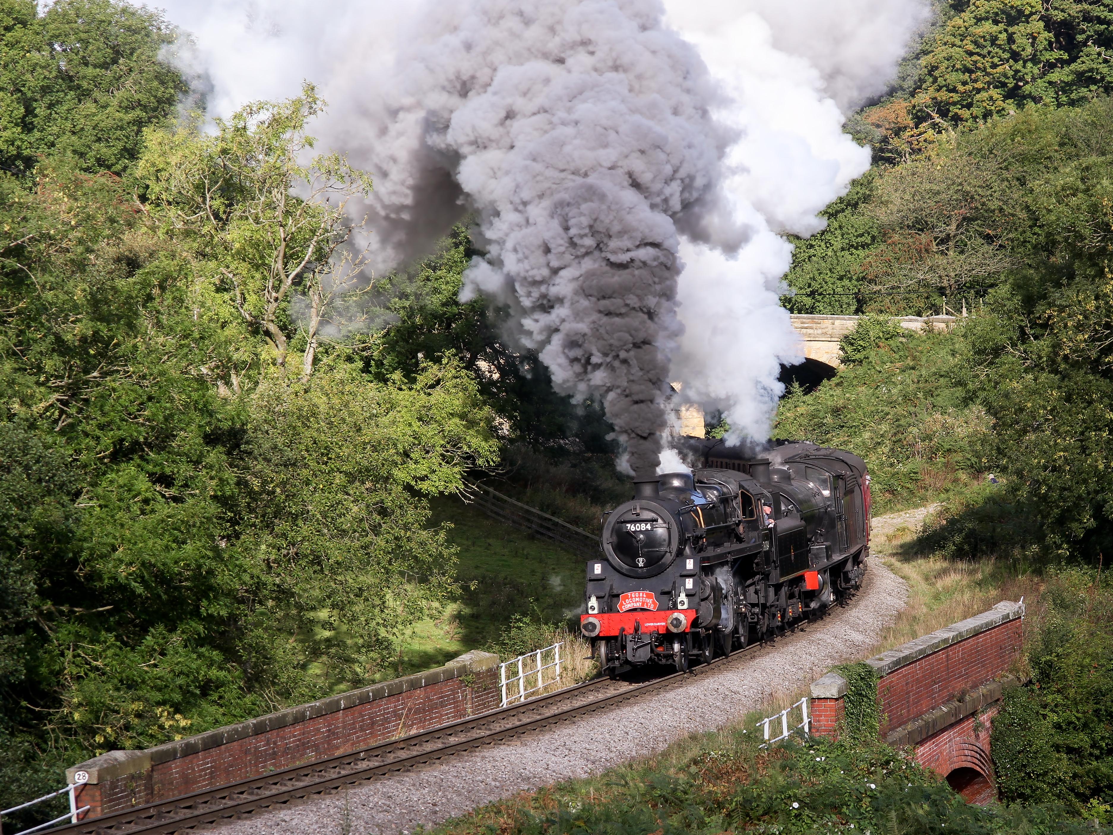File:BR Standard Class 4 & NER LNER BR Q6 0-8-0 (30775123185