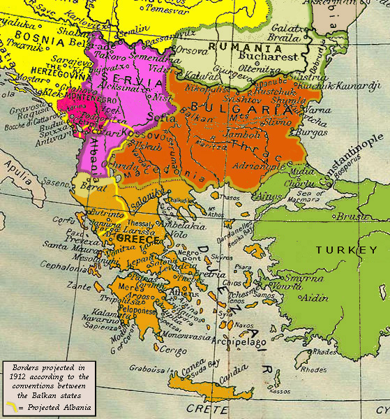 the two consecutive wars fought from 1912 to 1913 Free essays & term papers - the balkan troubles, history other.