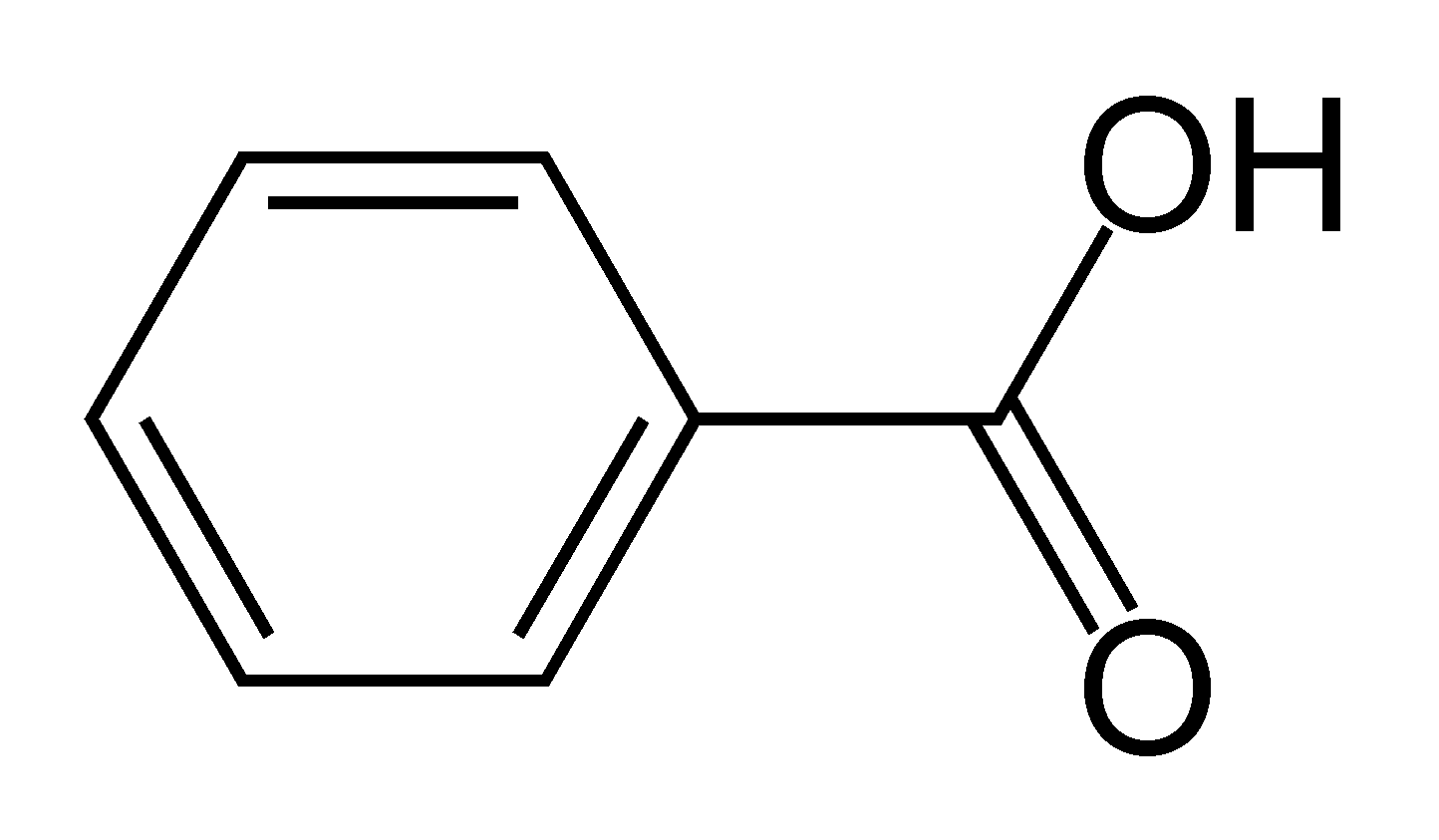 File Benzoic acid on chemical diagram