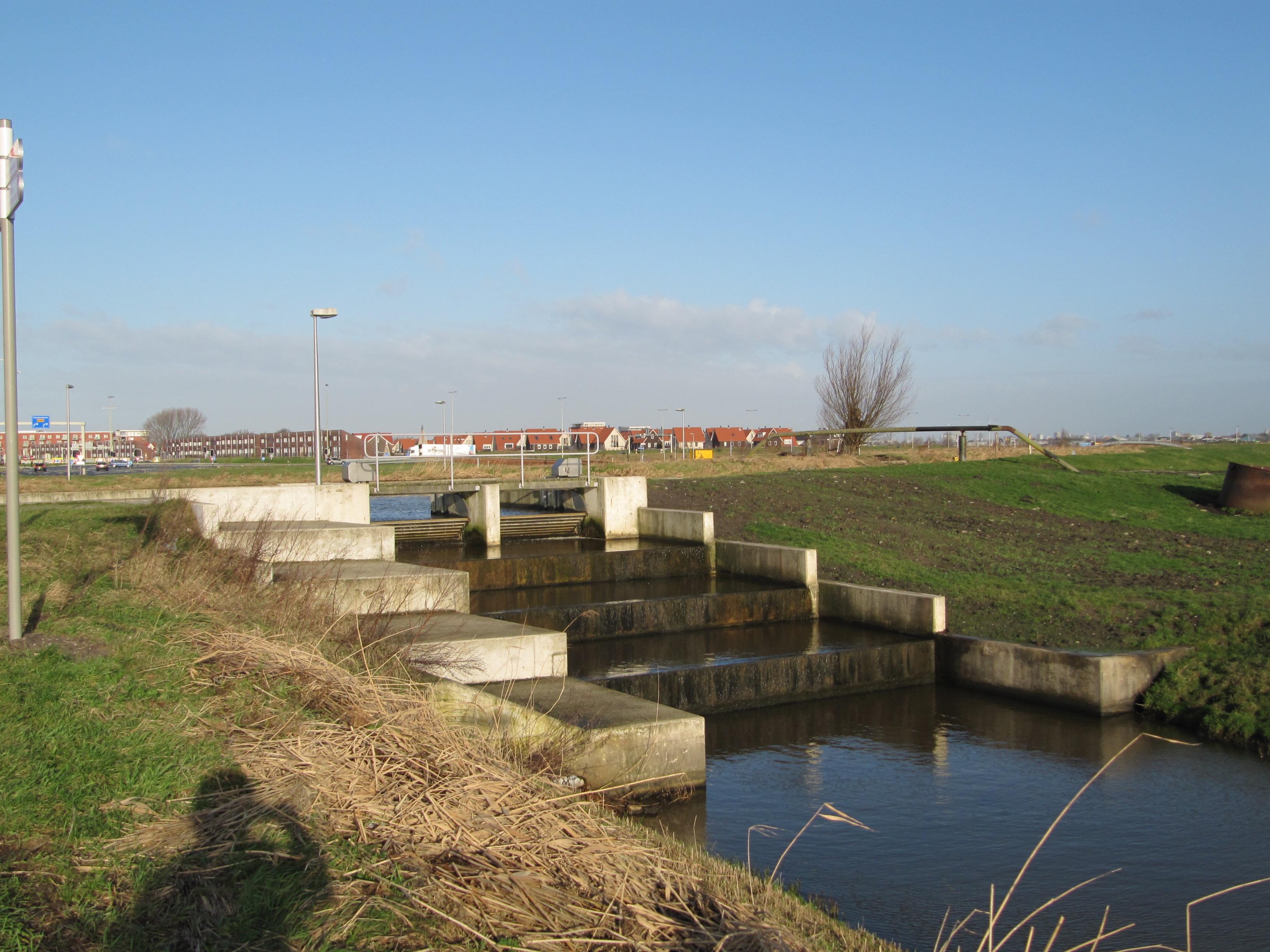 Bestandberkel En Rodenrijs Polder Van Pijnacker Waterinlaat